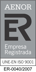 AENOR. Empresa registrada.